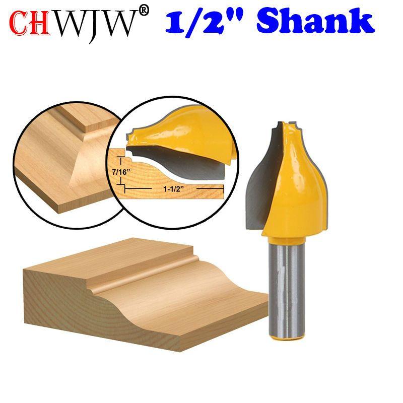 1 PC Panel Raiser Router Bit -Vertical - Ogee Bead - Shank door knife Woodworking cutter Tenon Cutter for Woodworking Tools  sc 1 st  Pinterest & 1 PC Panel Raiser Router Bit -Vertical - Ogee Bead - 1/2