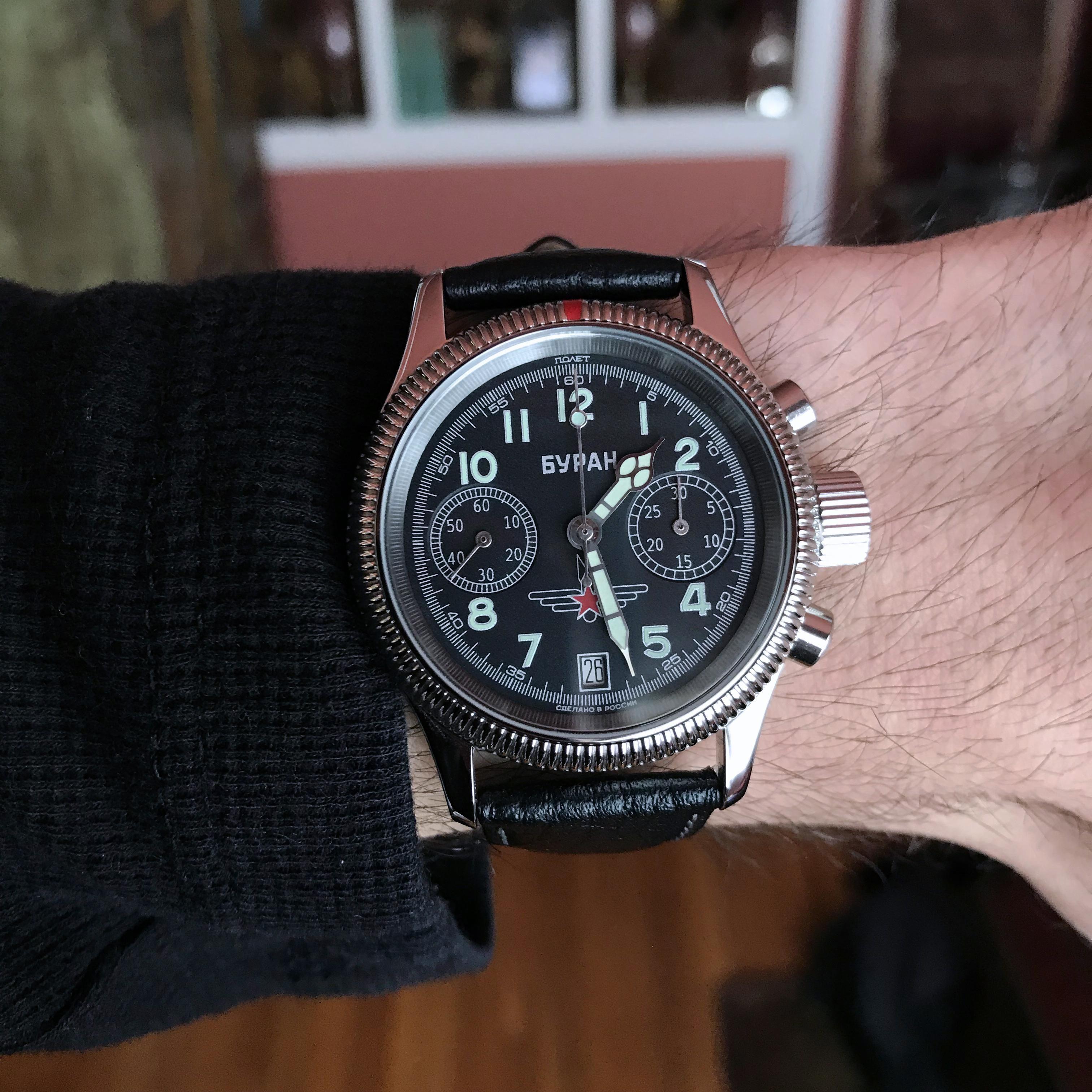 e8bd7ee262e2 Poljot  Poljot Buran 3133 Mechanical Chronograph
