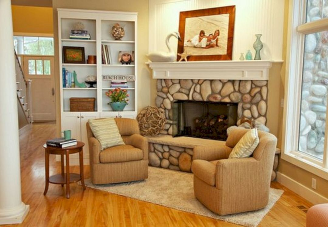 25+ Awesome Fireplace Seating Ideas For Family Room Design ...