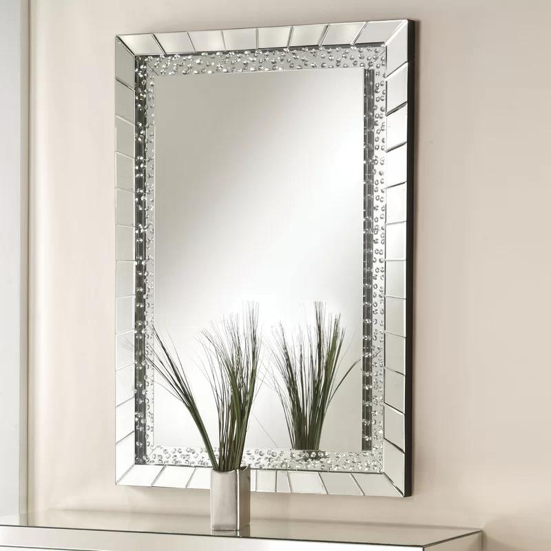 Rosdorf Park Longo Accent Mirror Reviews Wayfair Accent
