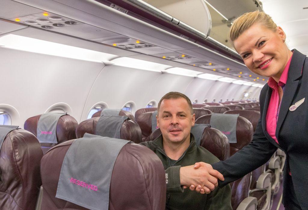 Primul pasager Wizz Air cu loc alocat gratuit | Airlines Travel