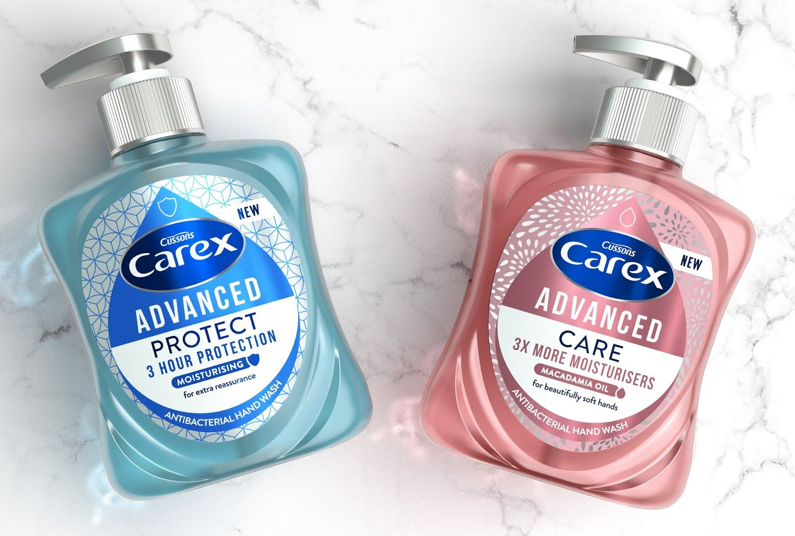 Carex 25 Years Redesigned Shampoo Bottles Design Packaging