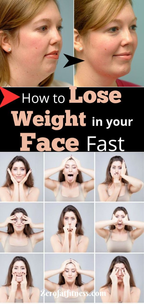 How to Lose Weight in Your Face Fast in 2 Weeks- Exercises + Home Remedies #beauty How to Lose Weigh...