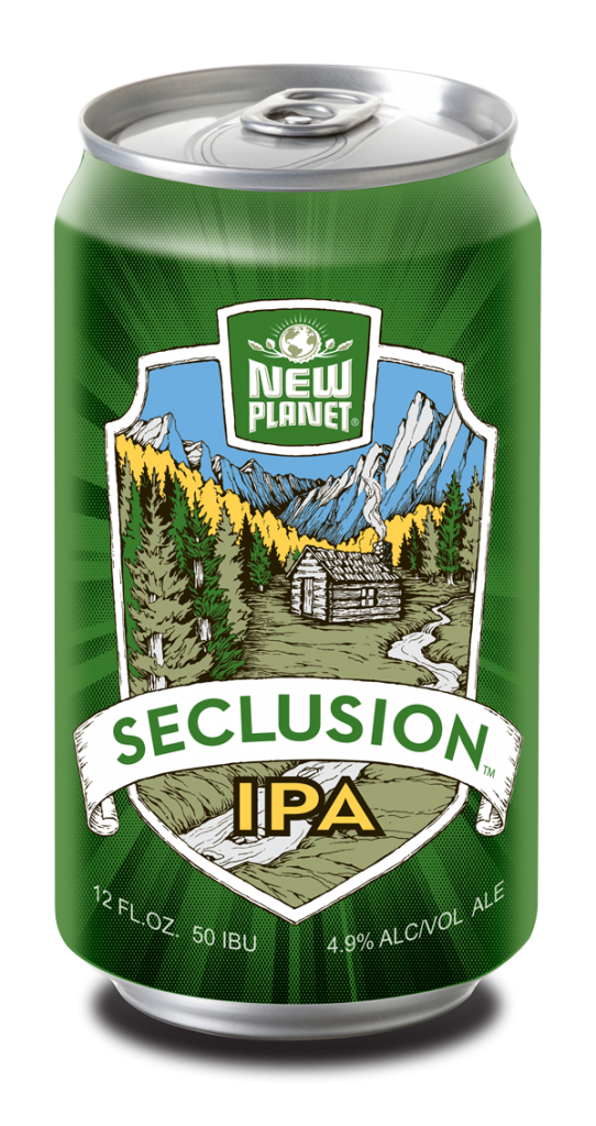 Gluten Removed Seclusion IPA | New Planet Beer | Gluten ...