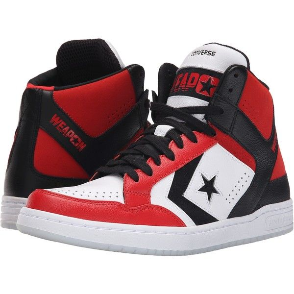 Unisex Shoes Converse Weapon Mid White/Red/Black