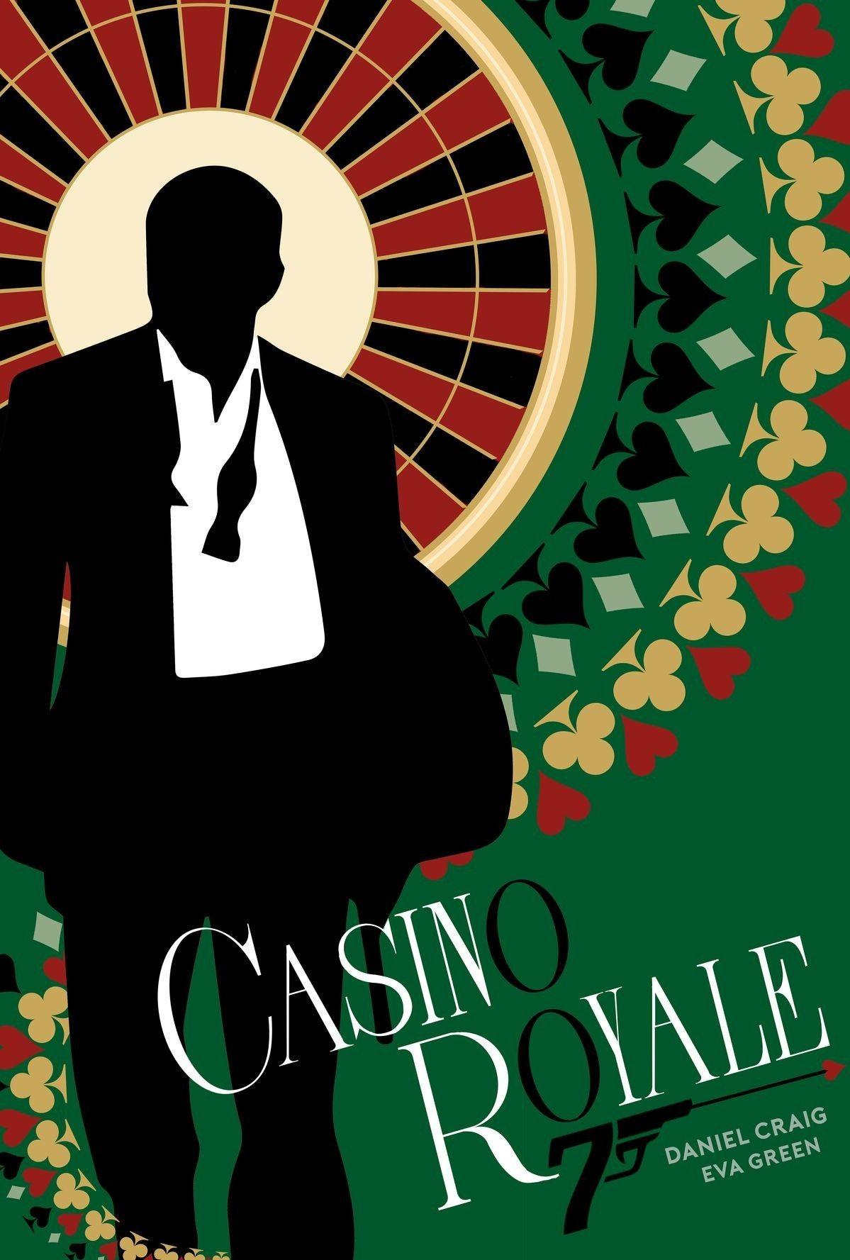 FRAMED James Bond Movie Poster Film Prints Casino Royale Daniel Craig