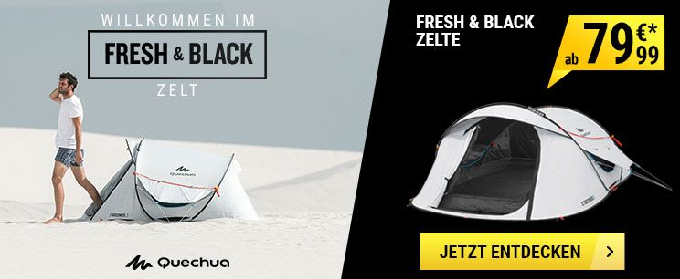 zelt fresh and black