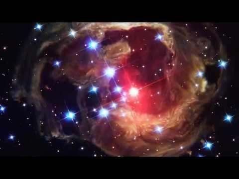 ERUPTING STAR V838 MONOCEROTIS hubble space image poster 24X36 detailed