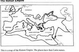 Roman Empire Map Worksheet Bing Images Roman Empire Map Map