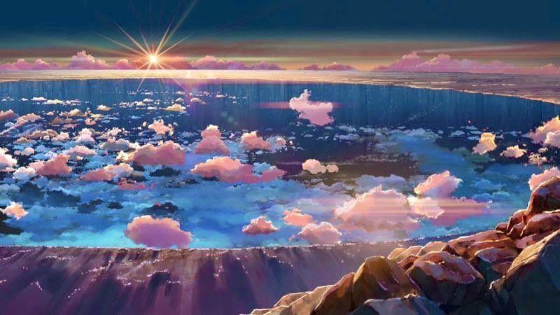 Anime アニメ On Twitter Anime Scenery Wallpaper Scenery Wallpaper Anime Scenery
