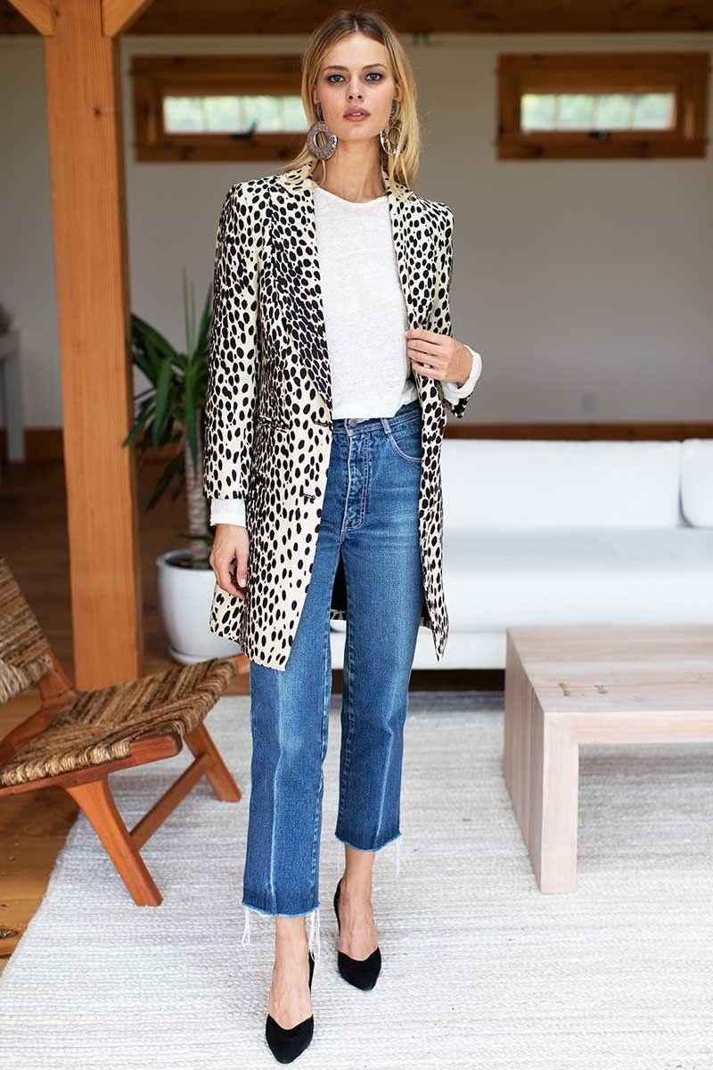 Wingtip Coat - Leopard #emersonfry