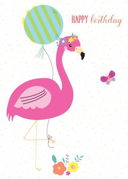 Открытки с днем фламинго