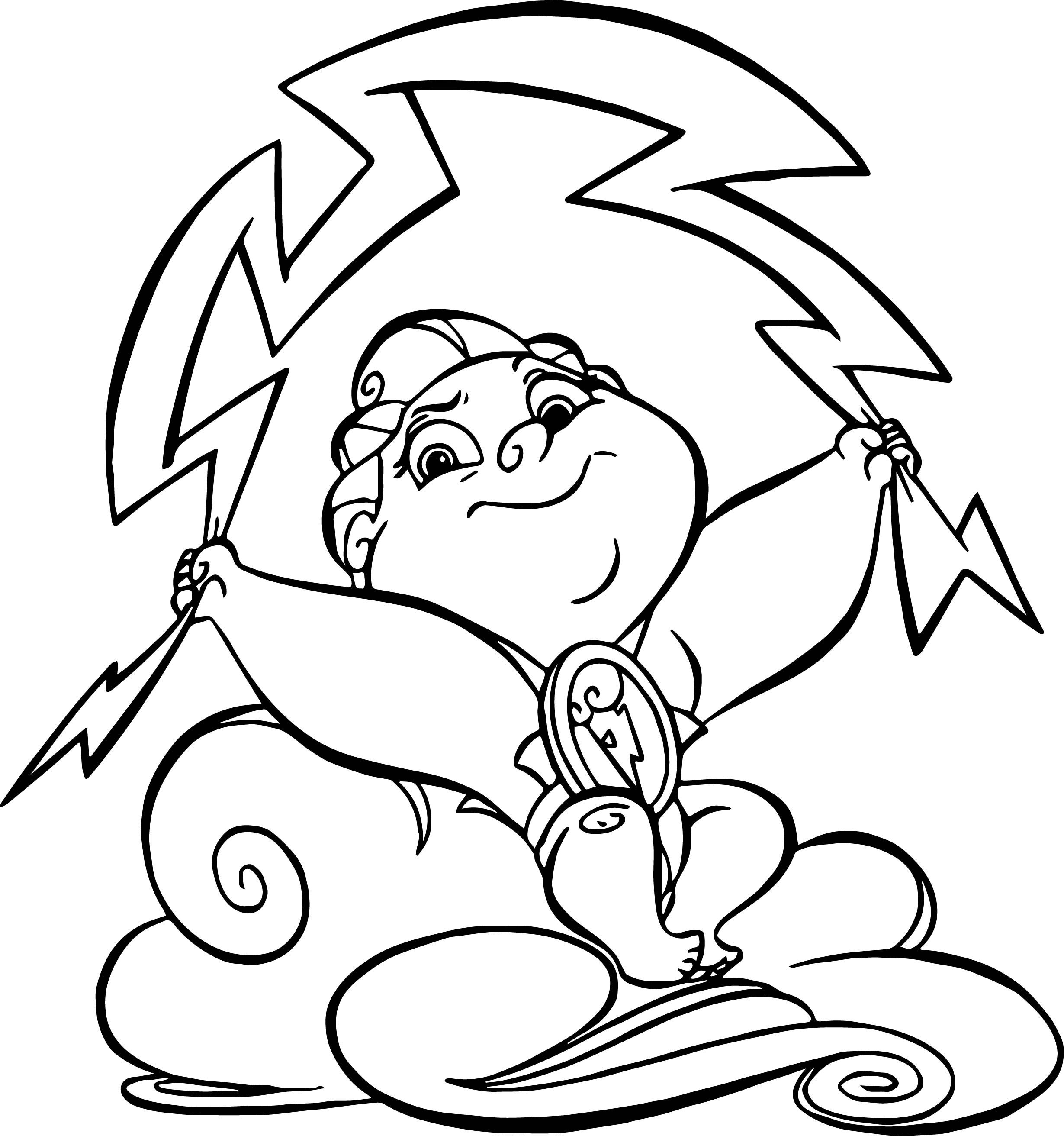Awesome Thunder Baby Hercules Coloring Pages Disney Coloring Pages Coloring Pages Disney Paintings
