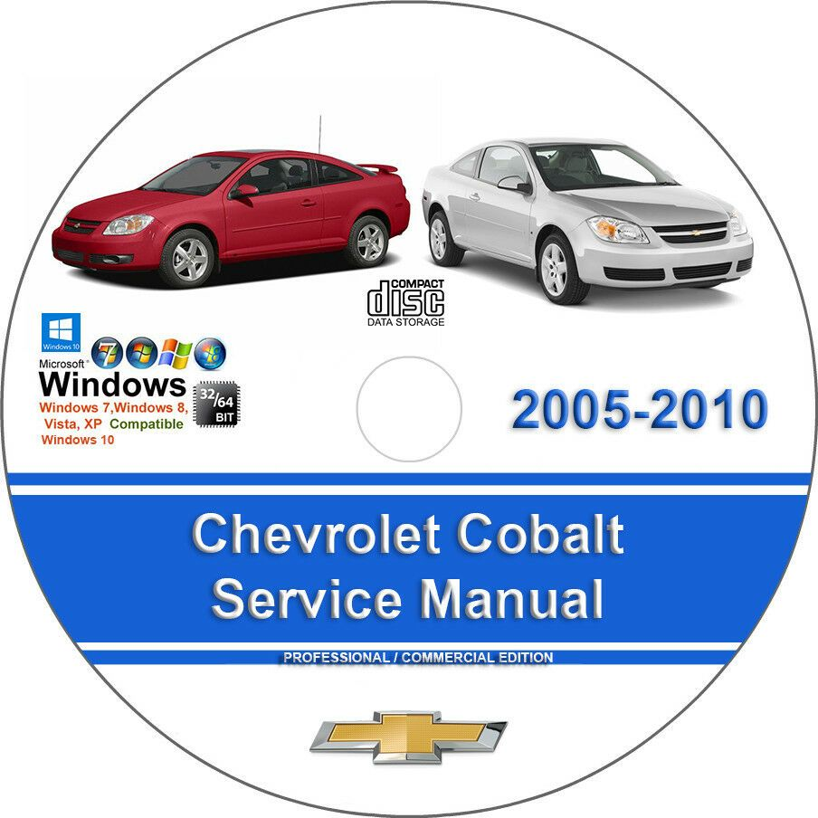 CHEVROLET COBALT 2005 2006 2007 2008 2009 2010 FACTORY SERVICE REPAIR MANUAL