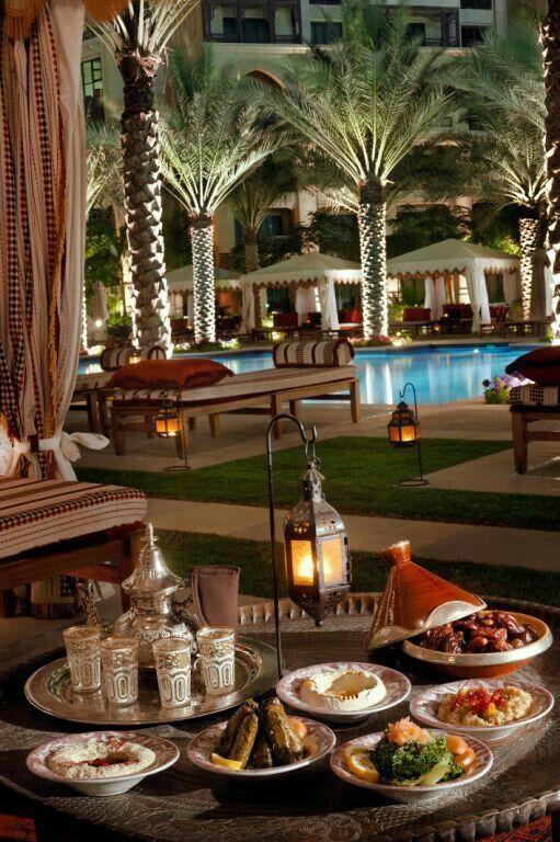 Parties Iftar Dubai Moroccan Design Morocco