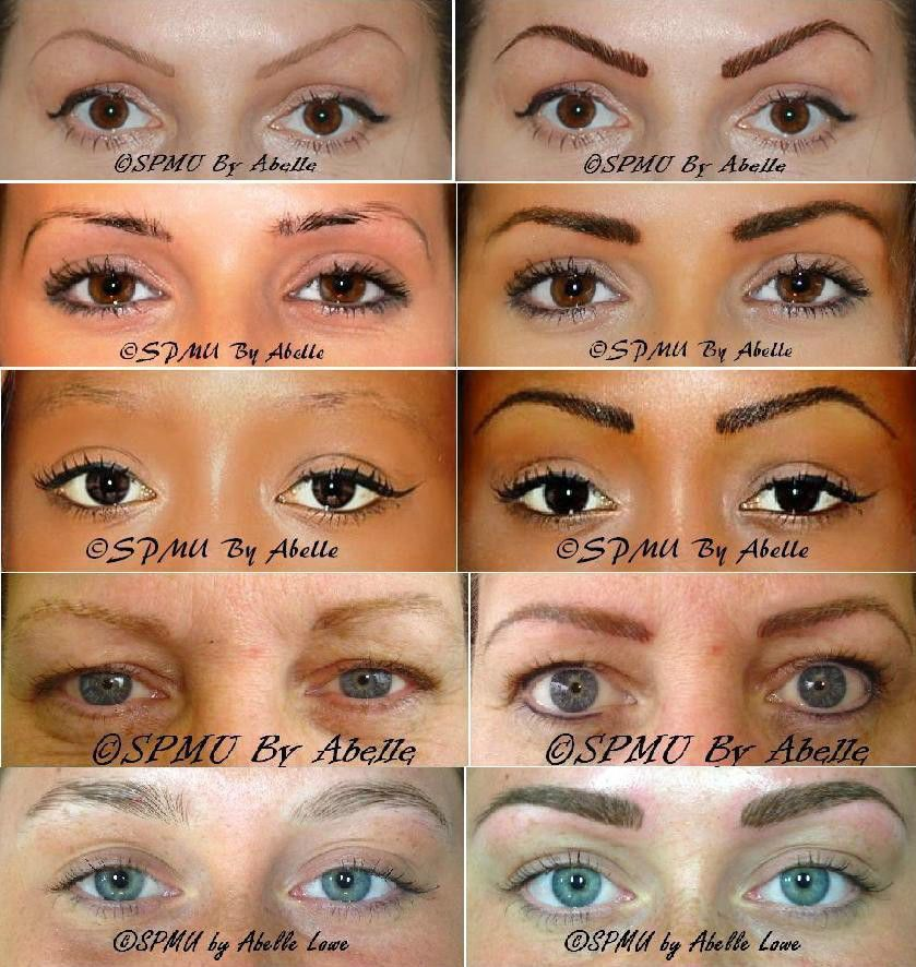 *NEW* Eyebrow Embroidery Semi Permanent Makeup tattoo £150 Only! Salon & Mobile service