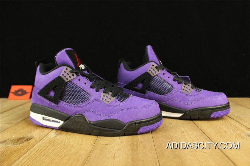 12c0b07aadda78 Top Deals Air Jordan 4 Travis Scott Purple in 2019