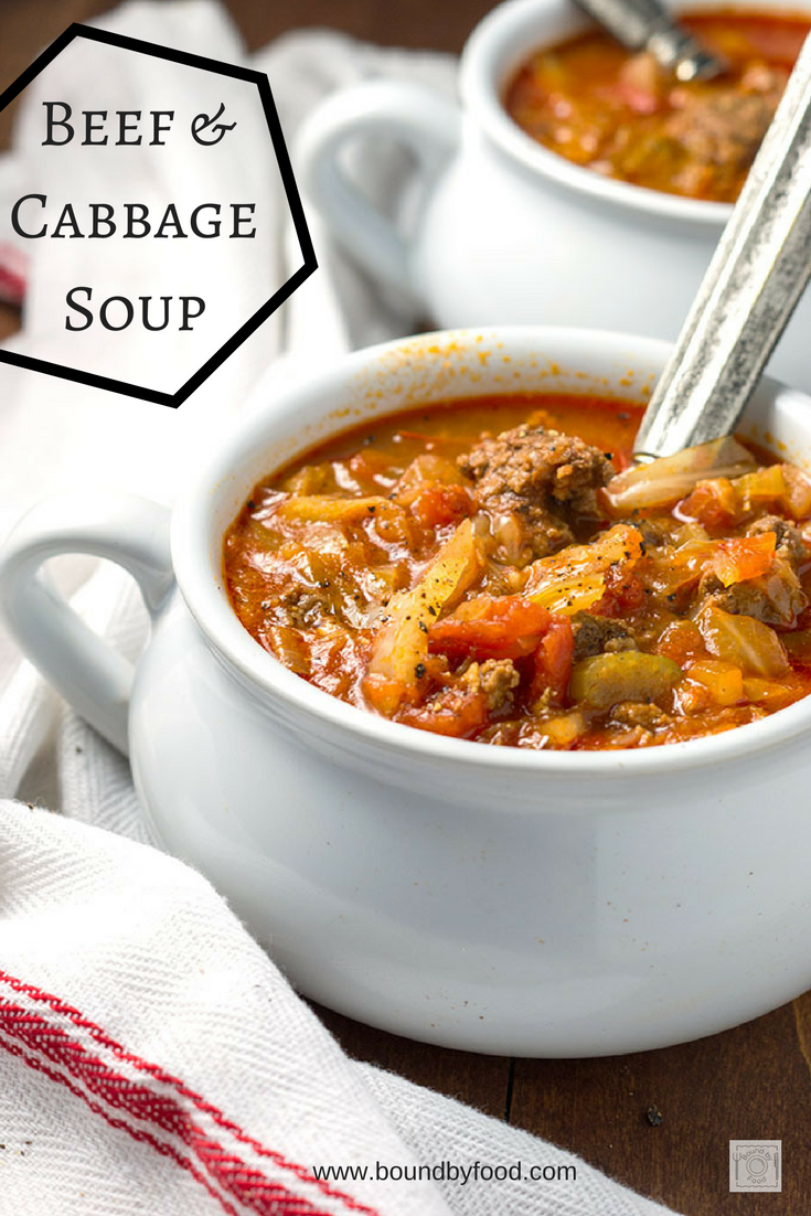 Beef And Cabbage Soup Delicious Soup Made With Ground Beef Onions Celery Carrots Tomatoes Tomato Past Soup Recipes Diet Soup Recipes Cabbage Soup Recipes