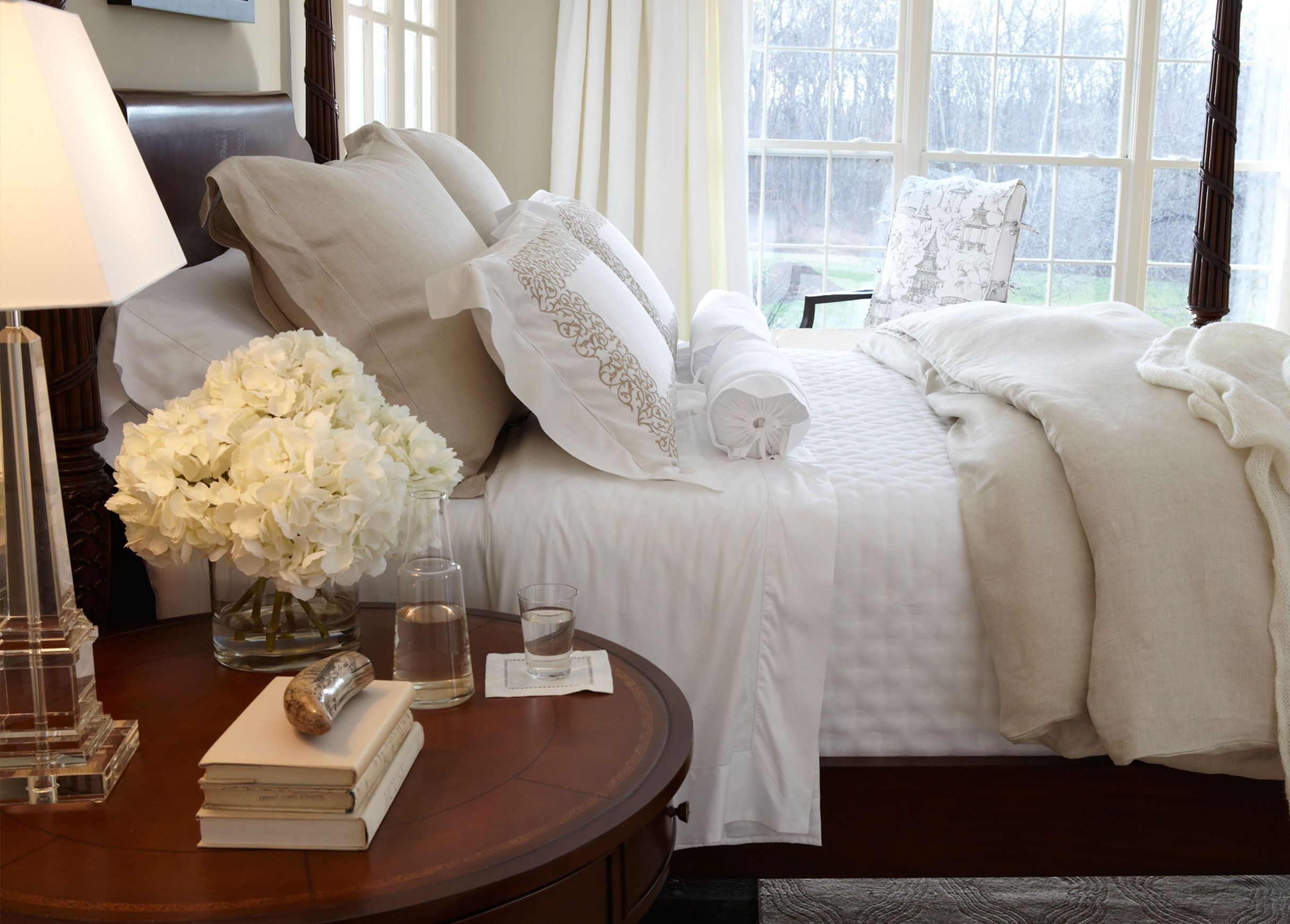 Cool Whites Bedroom   SHOP ETHAN ALLEN OMAHA NOW!