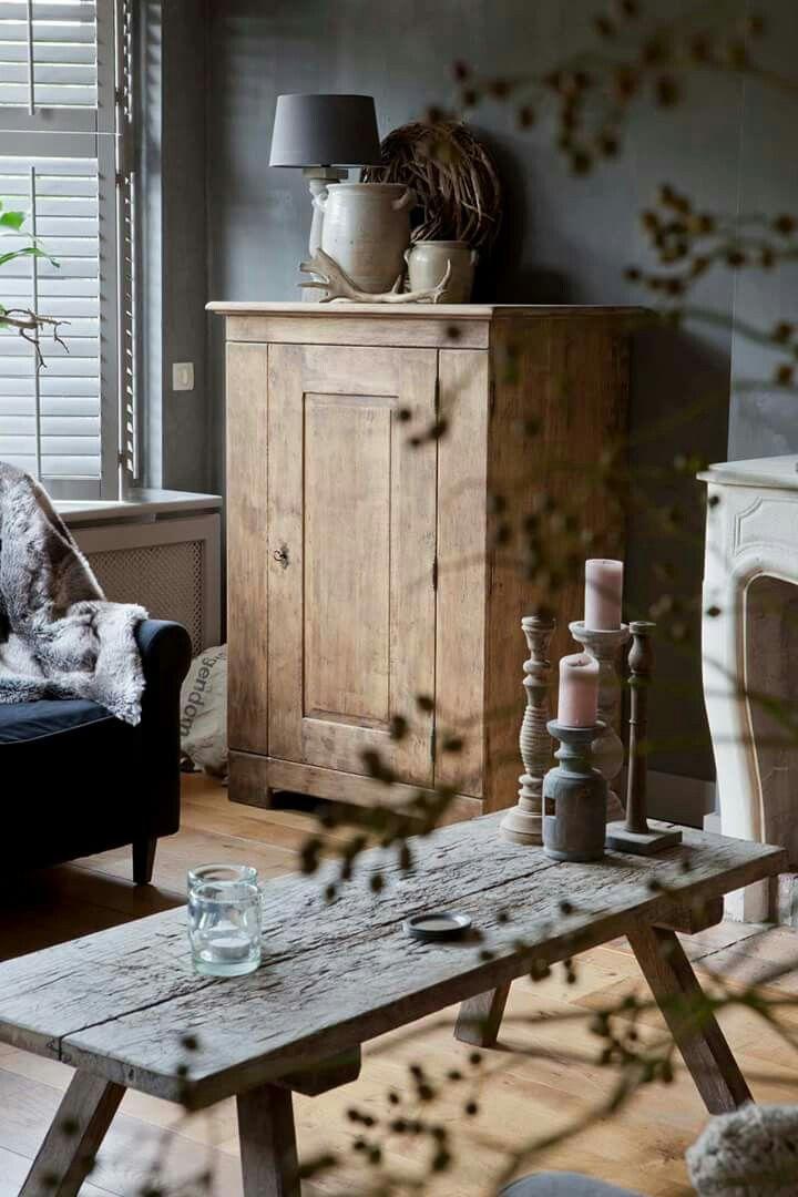 Pin van * Sytske * op woonkamer | Pinterest - Huiskamer, Interieur ...