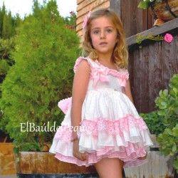 c493f7bfa LA AMAPOLA Colección Vega Vestido Vuelo Primavera-Verano Moda Infantil Para  Niño