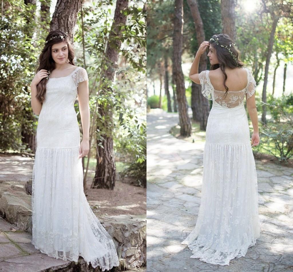 boho wedding dress plus size dress for country wedding guest