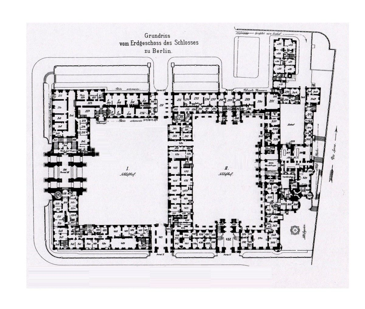 royal palace berlin 1933 ground floor plan architectural ground floor plan