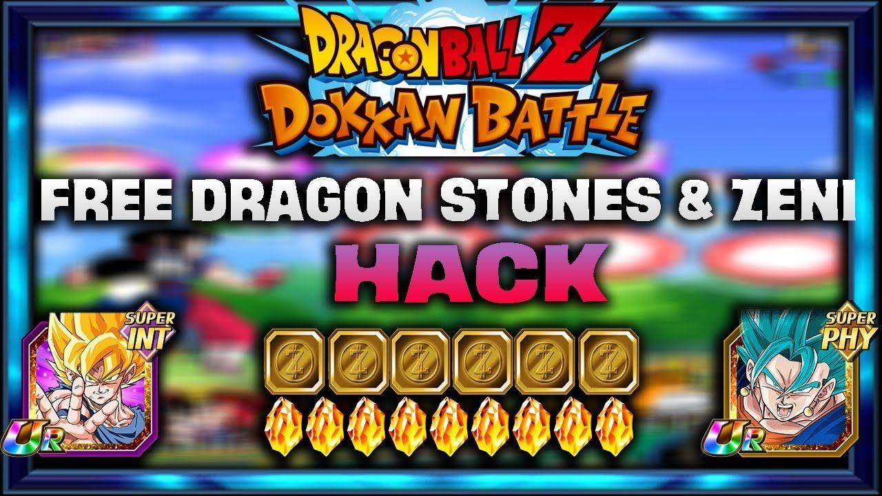 DRAGON BALL Z DOKKAN BATTLE Hack Dragon Stone 2020 Free DRAGON ...