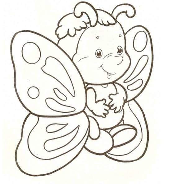 Kelebek Boyama Sayfası Hayvanlar Boyama Pinterest Coloring