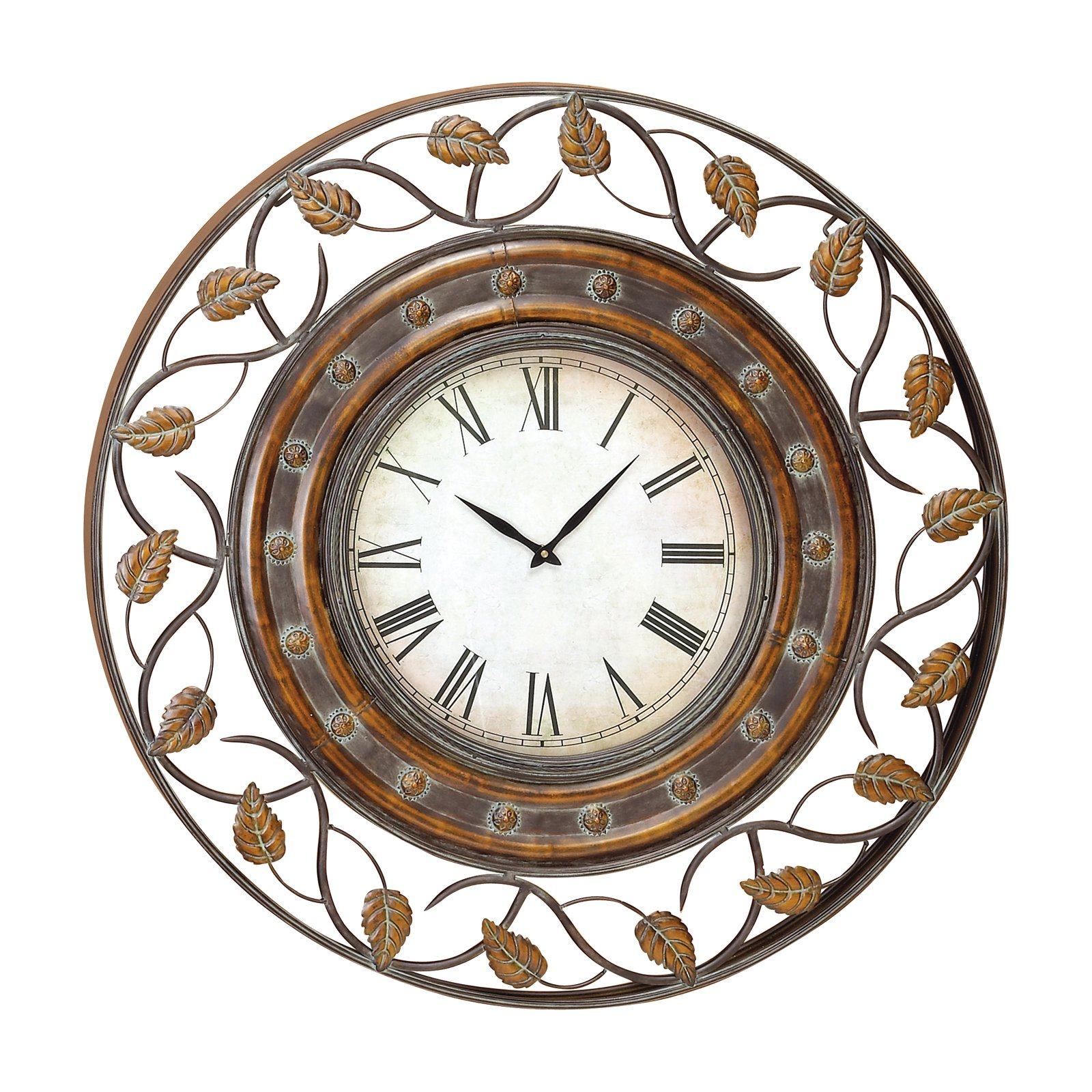 """Darby Home Co Oversized Secaucus 23/"""" Decorative Outdoor Wall Clock"""