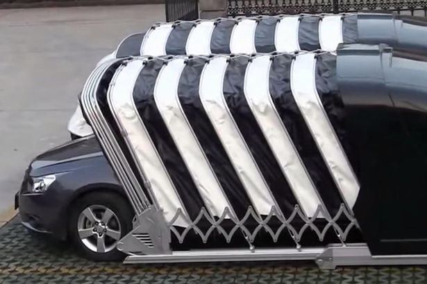 Portable Parking Garage >> Here S How To Park Your Car In A Garage Without The Garage