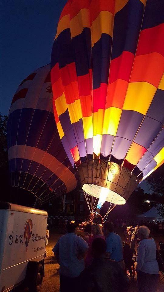 Balloon Race , Natchez , Mississippi