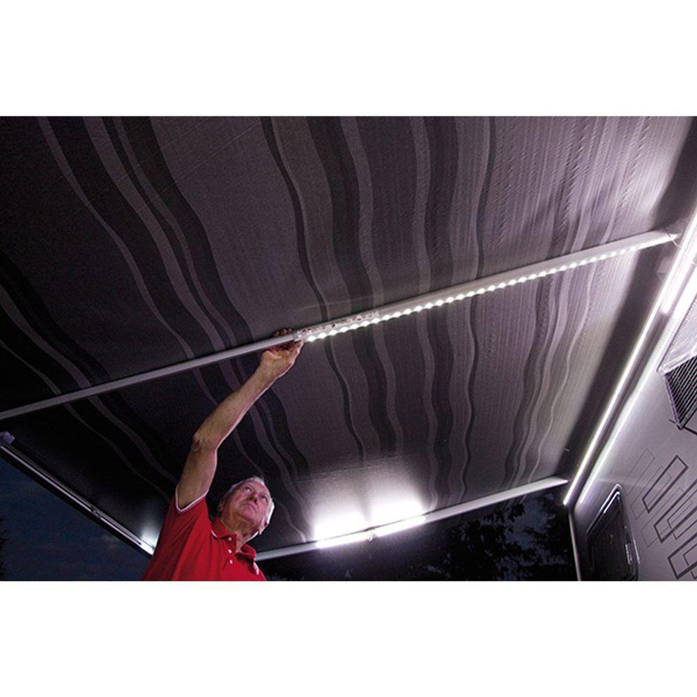 fiamma awning rafter led lights motorhomes caravans light up