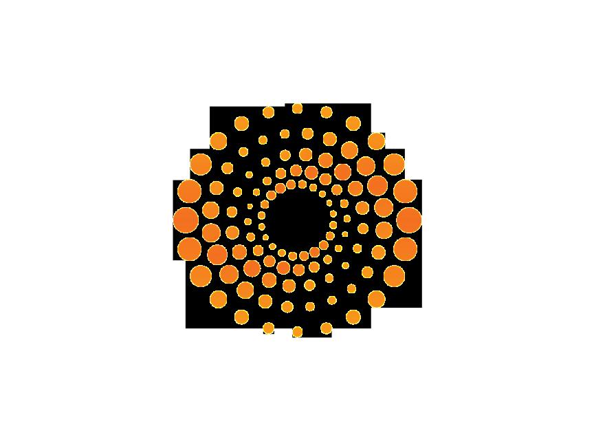 Reuters-logo-dot | LOGO | Dot logo, Circle logos, Technology logo