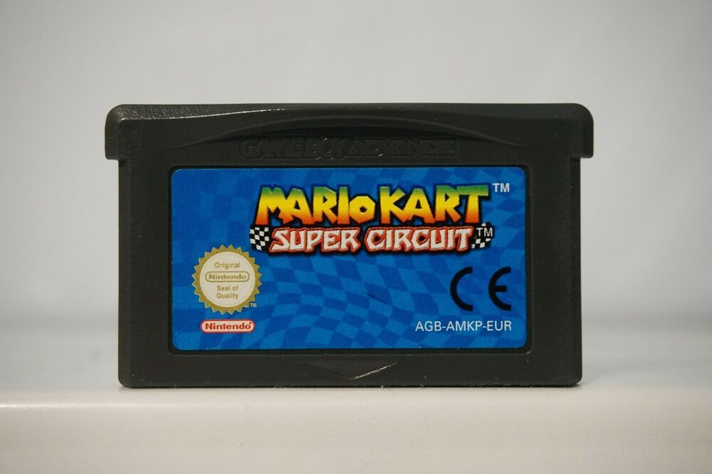 Mario Kart Super Circuit Gameboy Advance Game Boy Gba Nintendo