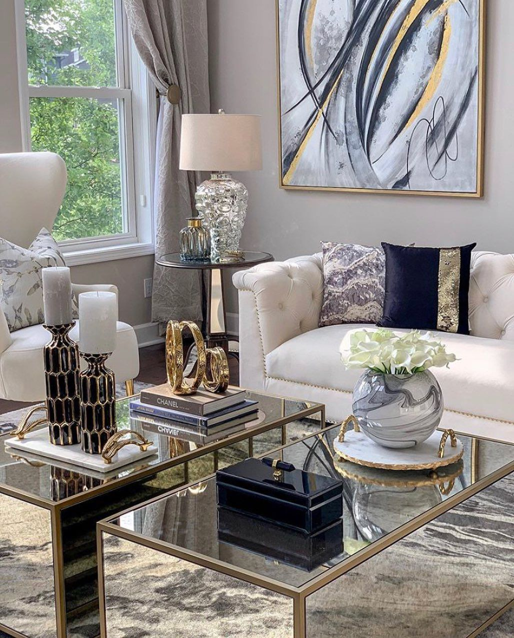 Home Decor Interior Design On Instagram A Beautifully Decorated House By A Beautifu Living Room Decor Gray Living Room Decor Apartment Living Room Decor Cozy