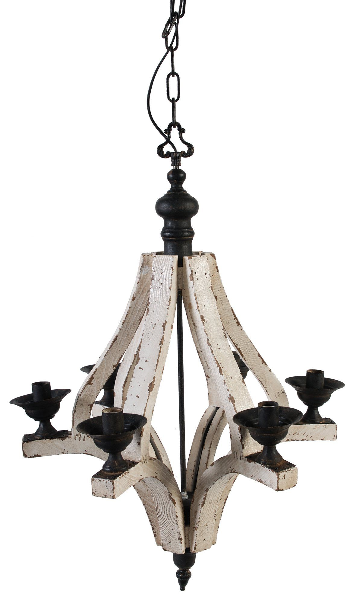 Amazon A&B Home Wood and Metal Chandelier 22 5 X 32 3 Inch