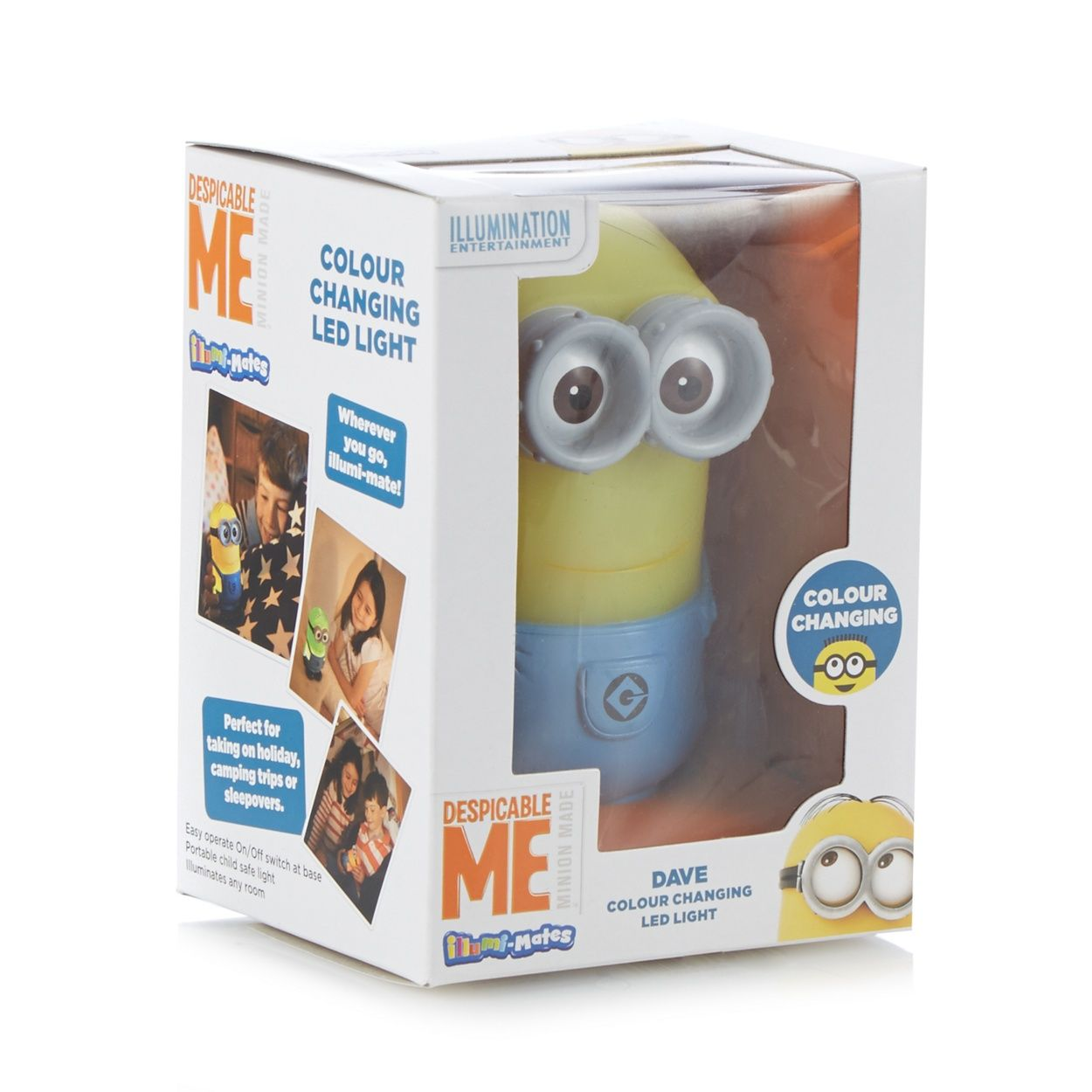 Childrens colour changing lights - If Your Little One Is A Fan Of Despicable Me They Ll Love This Portable Minion Child Safe Light Its Comforting And Automatically Colour Changing Led Light