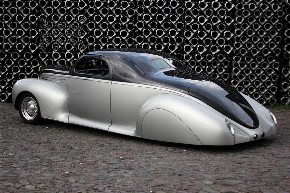 1939 lincoln zephyr custom 2 door coupe