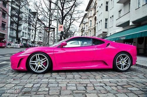 Ferrari Pink ☆ Girly Cars for Female Drivers! Love Pink Cars  It's the dream car for every girl ALL THINGS PINK! #Lamborghini #AlfaRomeo #pinkferrari Ferrari Pink ☆ Girly Cars for Female Drivers! Love Pink Cars  It's the dream car for every girl ALL THINGS PINK! #Lamborghini #AlfaRomeo #FerrariPink #pinkferrari