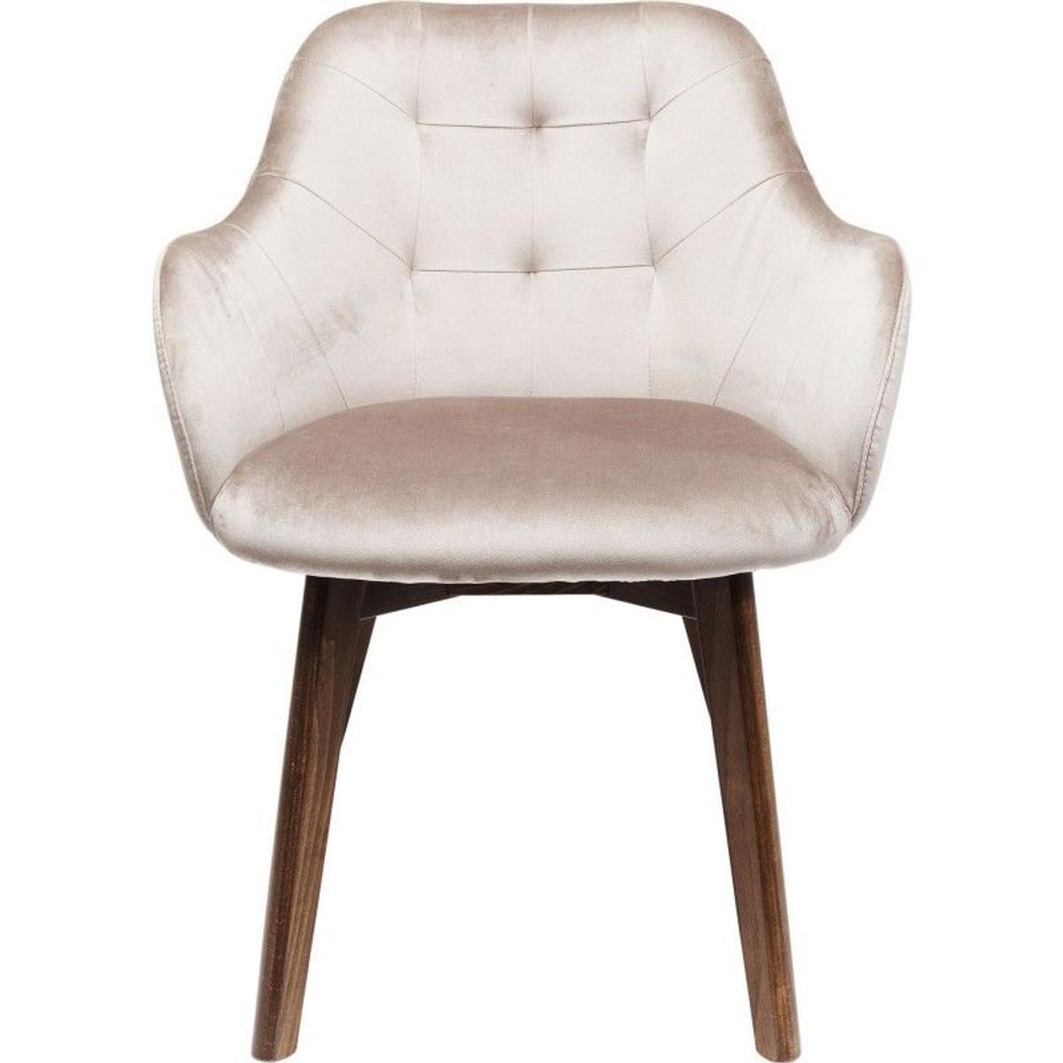 Chaise Avec Accoudoirs Lady Pieds Bruns Chaise Accoudoir Kare Design Et Accoudoir
