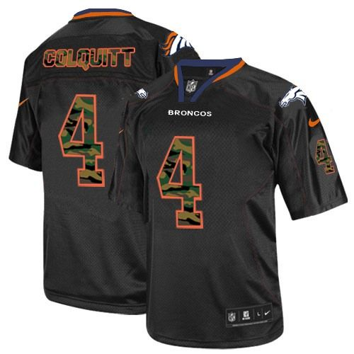 Britton Colquitt Elite Jersey-80%OFF Nike Camo Fashion Britton Colquitt Elite Jersey at Broncos Shop. (Elite Nike Men's Britton Colquitt Black Jersey) Denver Broncos #4 NFL Camo Fashion Easy Returns.