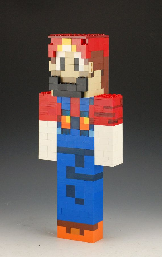 Lego Minecraft Custom skin SethBling   Lego Minecraft   Pinterest     This is a Lego Minecraft skin of SethBling  He is 12 1 2 inches tall  5  inches wide and 3 inches deep