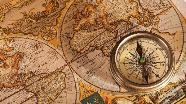 Old map and compass hd wallpaper commercials too pinterest - Compass hd wallpaper ...