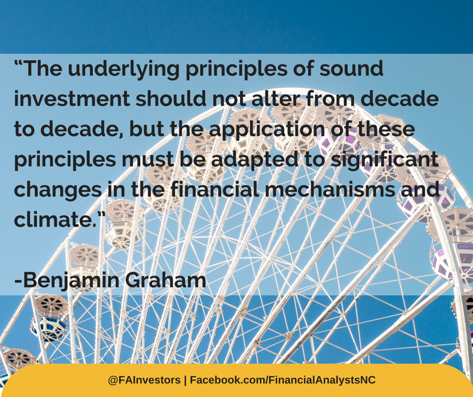 Benjamin Graham Investing Quotes Market Investment