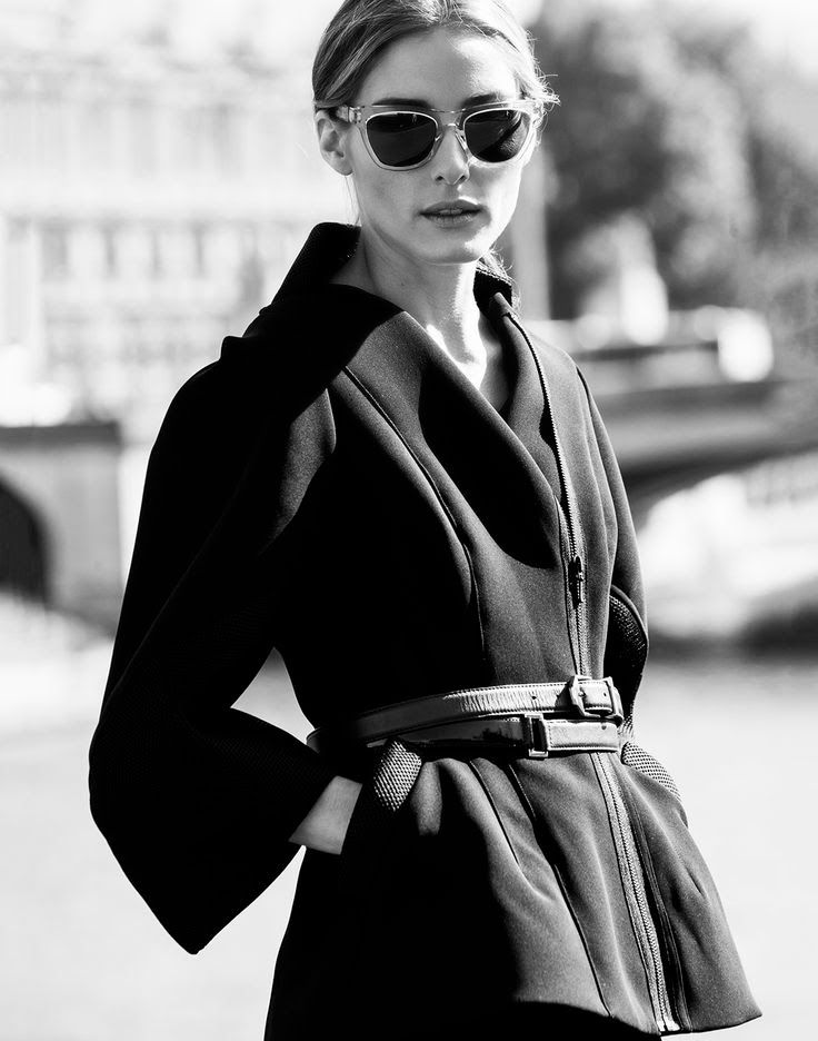 The Olivia Palermo Lookbook : Black & White : Olivia Palermo By Phill Taylor