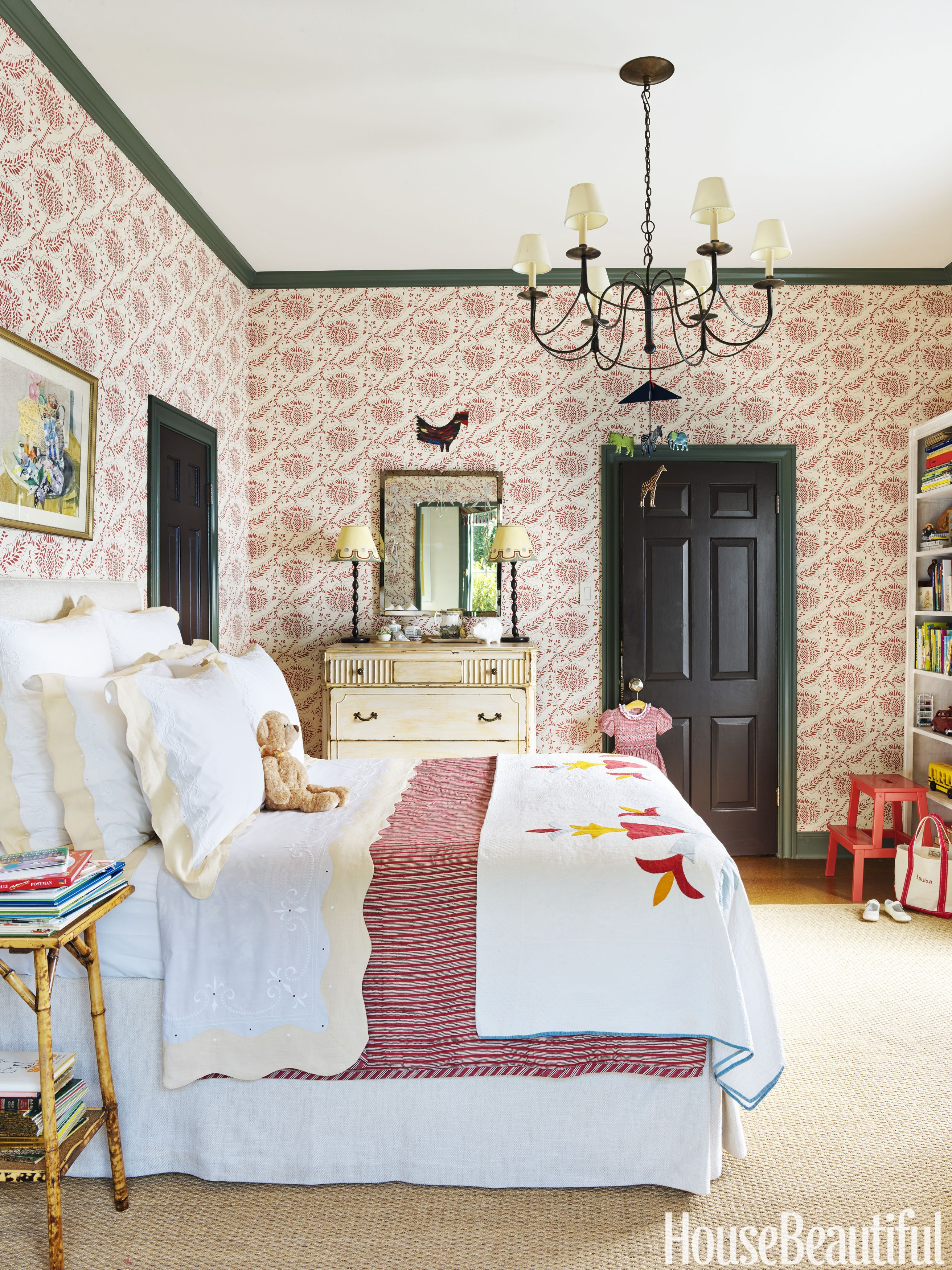 Christmas Morning Is A True Delight In A Festive Houston House House Interior Home Bedroom Design