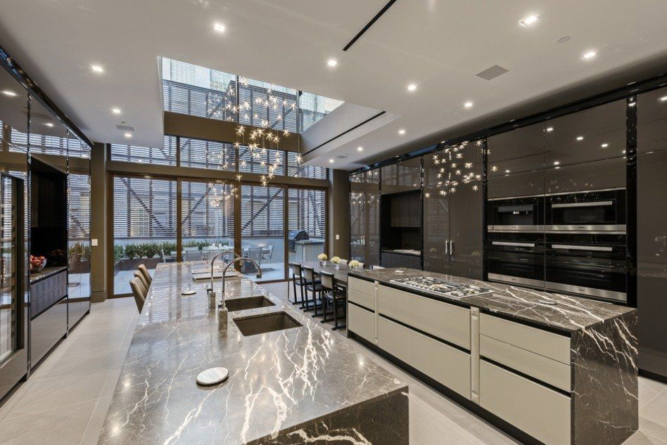 Photo of West Chelsea mansion reboot with gym, pool, elevator, wine room and garage is ready for its $36.8M close-up | 6sqft