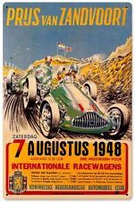 Grand Prix International Racing Metal Sign Man Cave Garage Club Grelley JG021