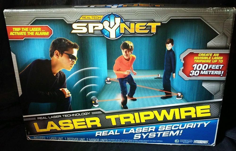 RealTech SpyNet Laser Tripwire security system Real Tech Spy Net ...